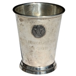 Don Cherrys 1960 USGA Americas Cup Team Sterling Silver Cup
