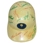 Multi-Signed Vintage Cleveland Open Cream Hard Hat - Lema, Snead, Boros, others JSA ALOA