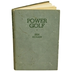 Ben Hogan Signed 1948 1st Edition Book Power Golf JSA ALOA