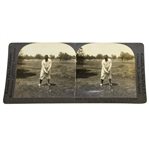 Bobby Jones 1920s Keystone View Company Stereo View Card