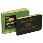 1939 Groove Your Golf by Ralph Guldahl & 1948 The Golf Doctor by Olin Dutra Books - Roth Collection