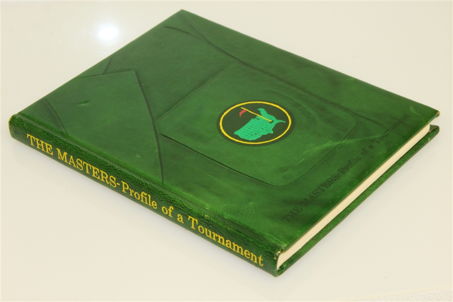 1973 'The Masters: Profile of a Tournament' Book by Dawson Taylor - Roth Collection