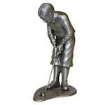 1984 Miller Golf Bobby Jones Silver Colored Statuette