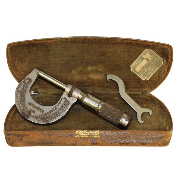 Vintage Brown & Sharpe Depth Micrometer Tool - Roth Collection