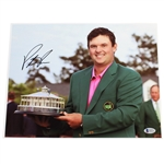 Patrick Reed Signed 2018 Masters Trophy Photo in Green Jacket BECKETT #E66231