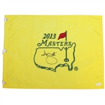 Adam Scott Signed 2013 Masters Embroidered Flag JSA #T69687