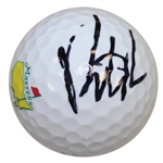 Patrick Reed Signed Masters Logo Golf Ball BECKETT #E66322