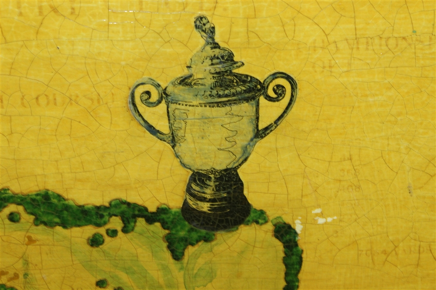 David Graham 1979 PGA Championship Laminated Commemorative Board - Artist Gifted