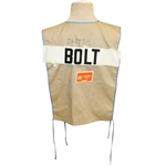 Don Cherrys 1985 USGA Senior Open Championship Caddy Bib for Tommy Bolt