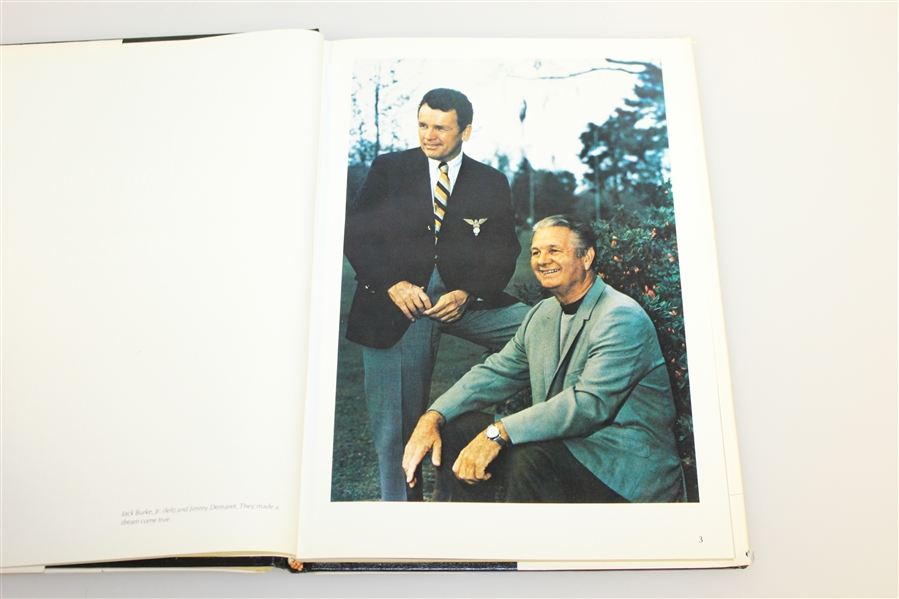Jack Burke Signed 'Champions Club' Book to Don Cherry with Burke Forging Demaret Sig JSA ALOA