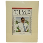 Bobby Jones TIME Magazine Weekly News Magazine Cover - September 22, 1930