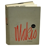 1960 Ohio State University Makio Yearbook with Jack Nicklaus
