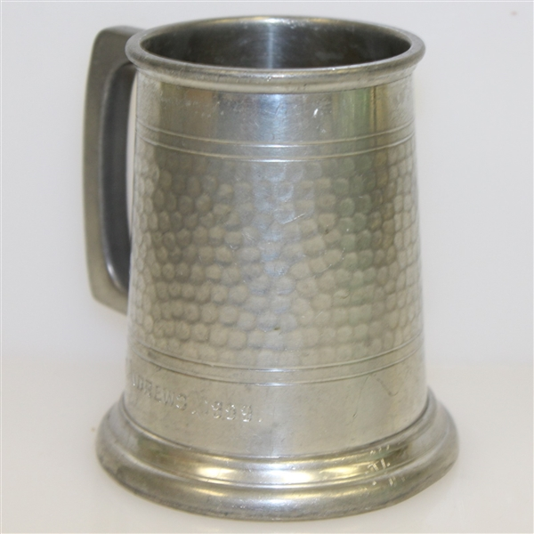 'St Andrews 1969' Sheffield Pewter Tankard - Made in England