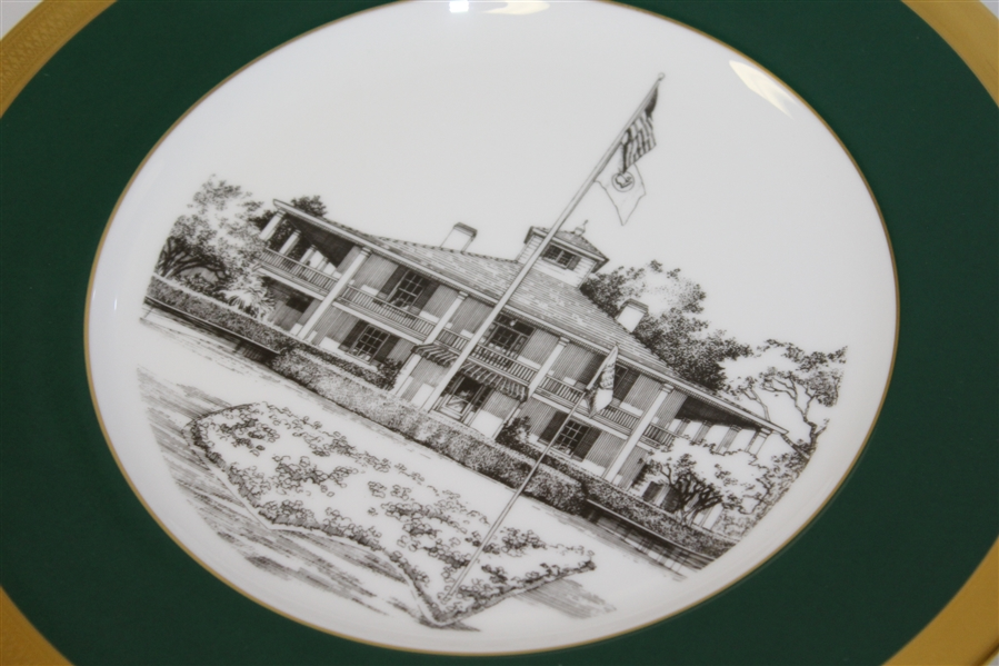 1996 Masters Tournament Lenox Limited Edition Member Plate #9