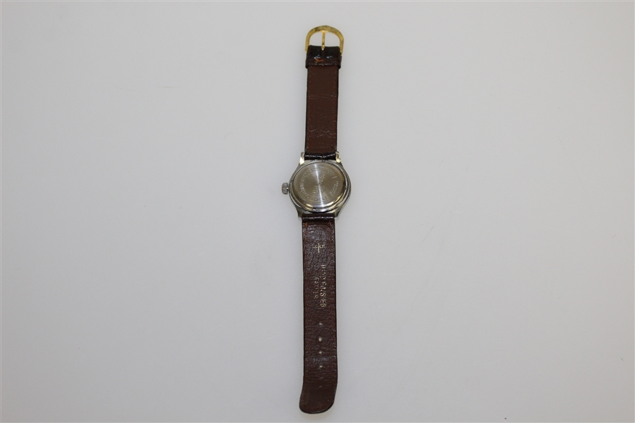 Classic Working Ben Hogan Timex Watch with Hand Finished Leather in Box