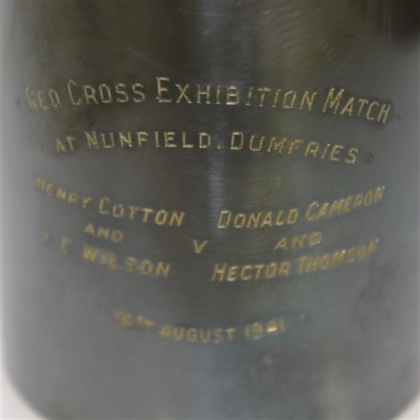 1941 Red Cross Match Cup at Nunfield, Dumfries - Henry Cotton & Wilson vs Cameron & Thomson