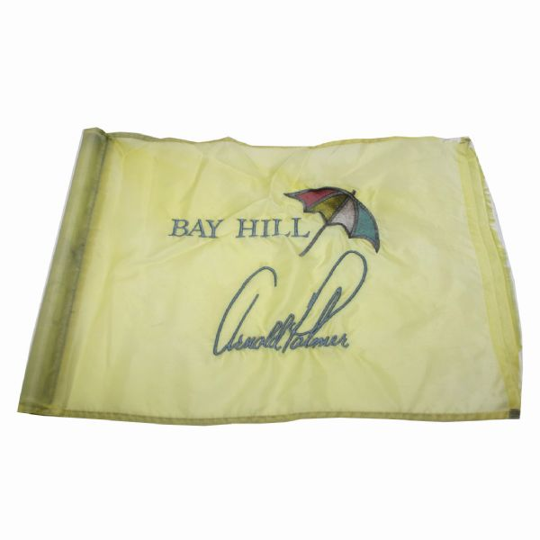 Embroidered Course Used Bay Hill 'Arnold Palmer' Flag