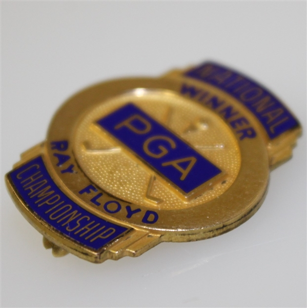 Ray Floyd's PGA Past Champions Credential Badge - 1969 & 1982 PGA Wins