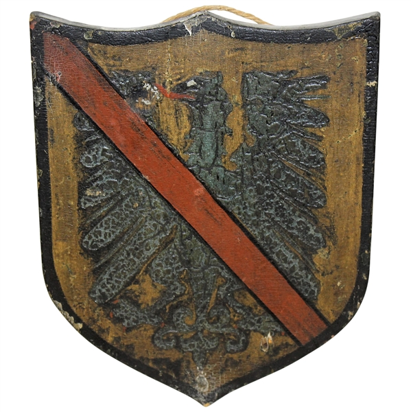 Wooden Family Crest/Shield