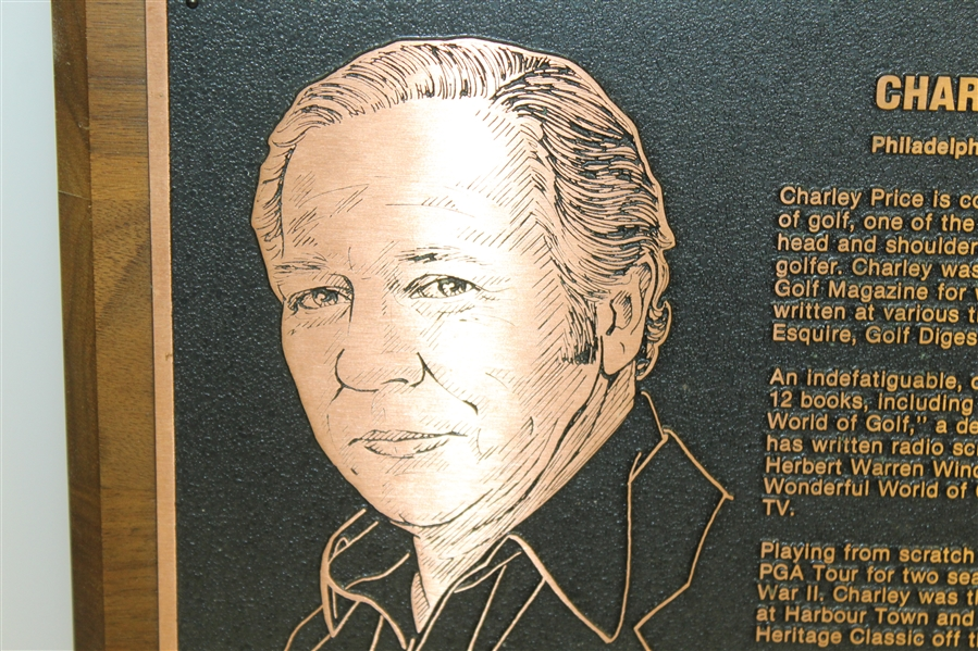 Charles Price's 1985 Memorial Gold Journalism Induction Award - As Sponsored By Jack Nicklaus