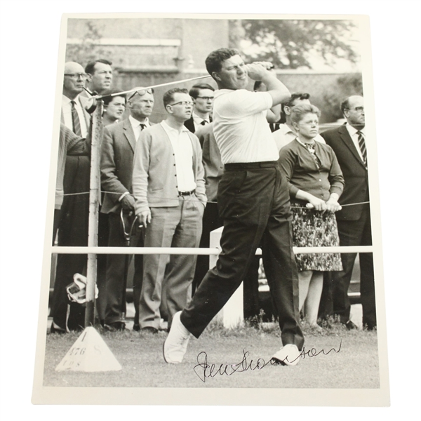 Peter Thomson Signed 8x10 Post-Swing Photo JSA ALOA