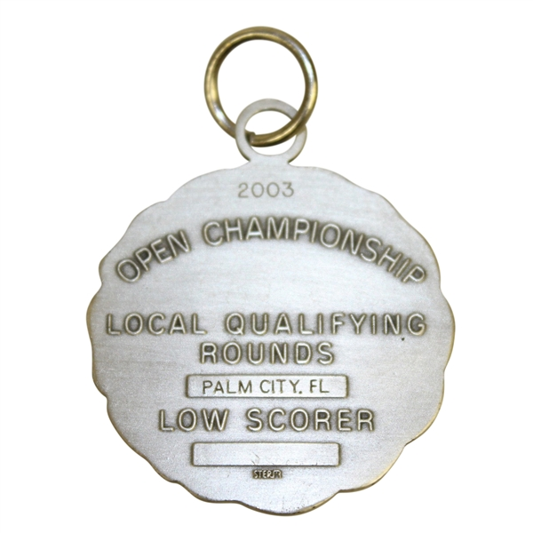 2003 US Open Qualifying Low Scorer Medal (Sterling) - Robert Floyd