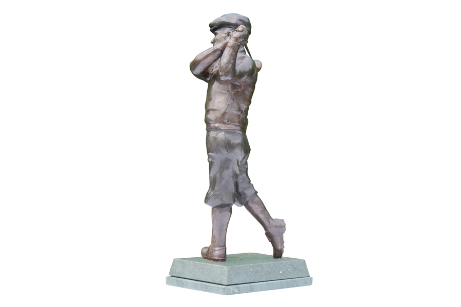 Limited Edition Golfer Figurine Post Swing, 1920's-1950's Themed - TP Stamp On Base