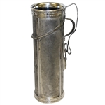 Silverplate Golf Bag Cocktail Pitcher- Derby S.P. Co. International S. Co.