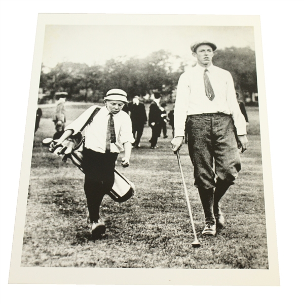 Francis Ouimet 1913 US Open Photo - USGA Stamped