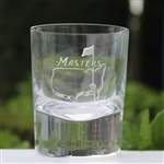 Masters Shot Glass w/ Frosted Masters Logo Etching On Front