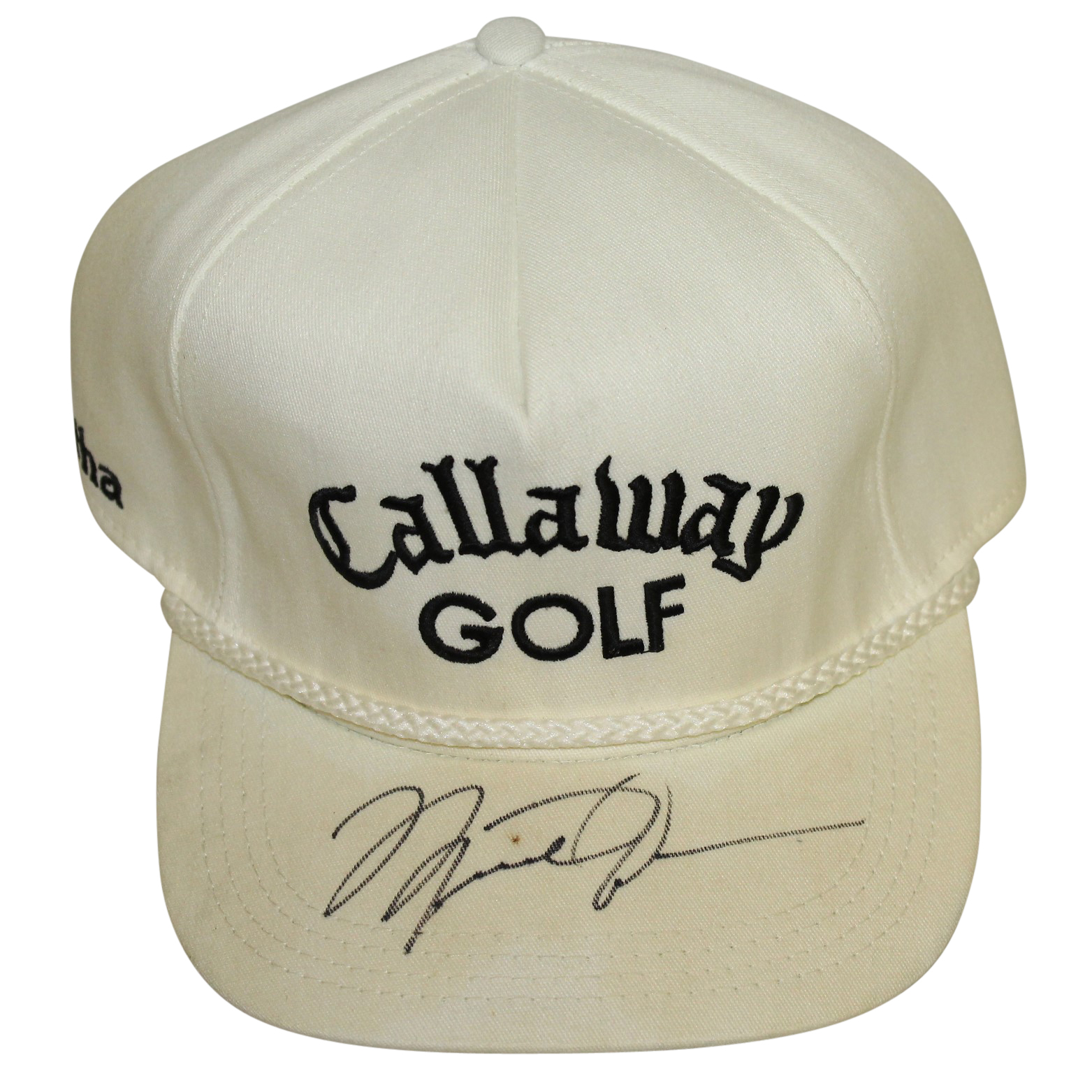 fced34432d2c9c Lot Detail - Michael Jordan Signed White Callaway Golf Hat JSA ALOA