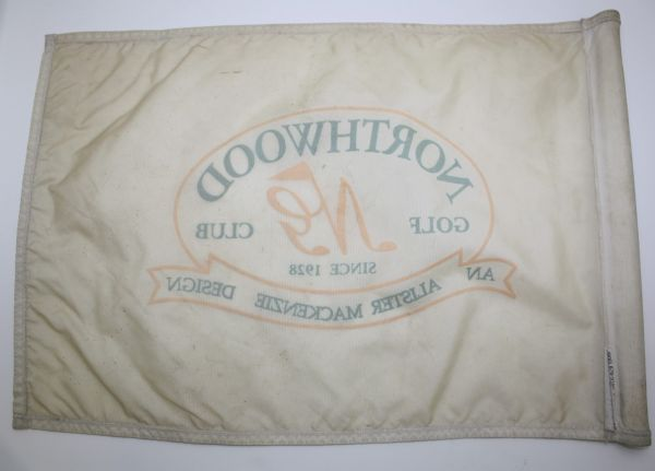Northwood Golf Club Course Used Flag