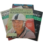 "Four Sports Illustrated Magazines -  Ben Hogans 3rd, 4th, and 5th  Teaching ""Lessons"""