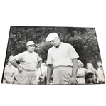 Ben Hogan & Sam Snead Black & White Sports Illustrated Original Photo - At Houston CC 1964