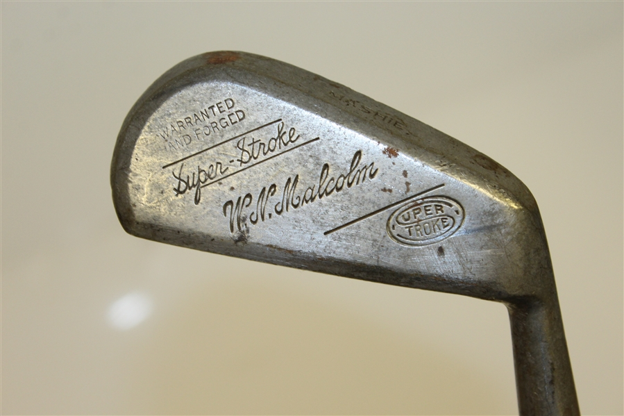 W.N. Malcolm SuperStroke Warranted Hand-Forged Mashie
