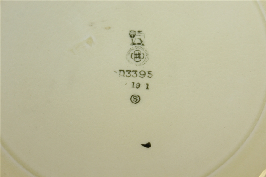 Royal Doulton Golf Plate 'All Knaves Are Not Fools, But All Knaves Are Fools'