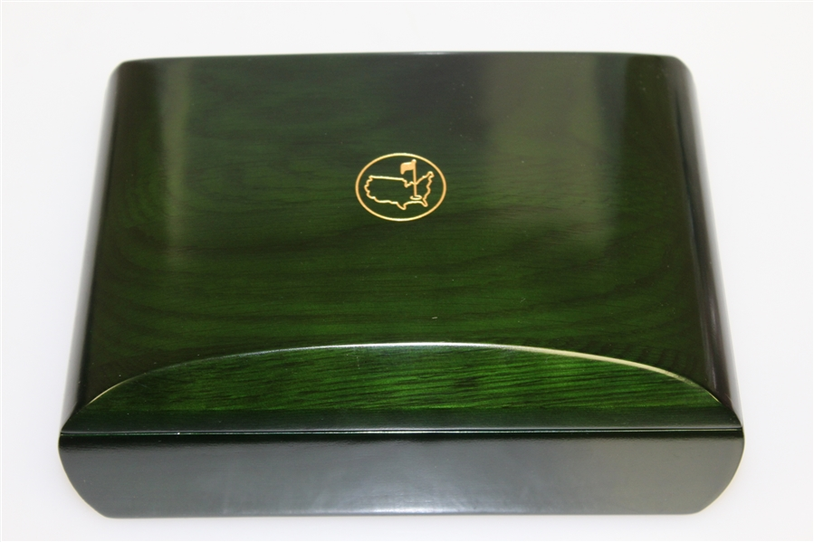 Masters 2015 Commemorative Emerald Box with Two Sleeves of Golf Balls