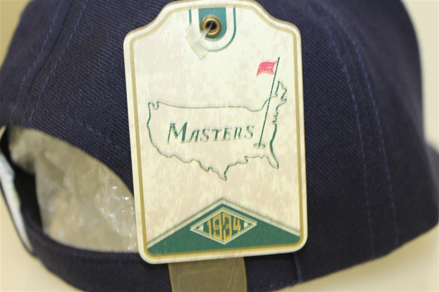 Masters Blue Wool Structured Augusta National Hat