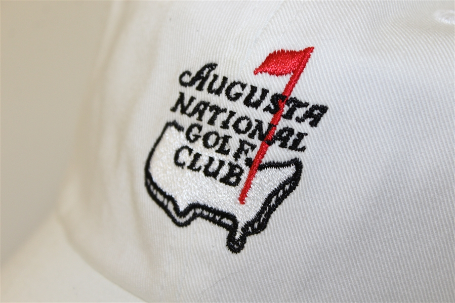 Augusta National Golf Club Member White Caddy Hat