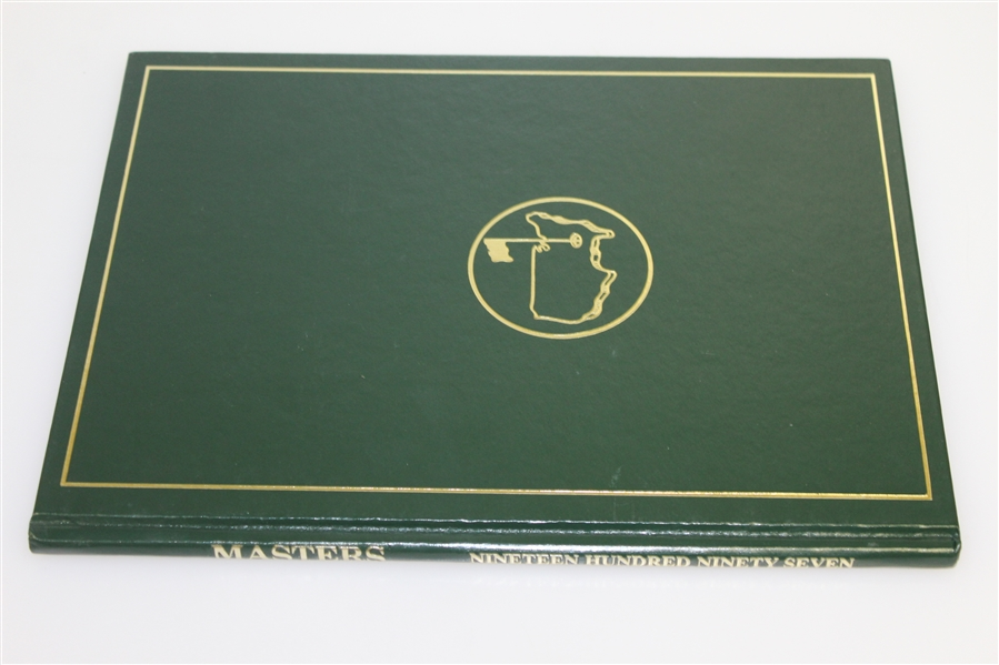 1997 Masters Tournament Annual Book - Tiger Woods Winner