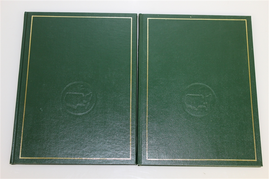 Two Masters Tournament Annual Books - 1978 & 1979