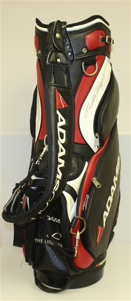 Bernhard Langer Signed Personal AdamsGolf 'The Linde Group' Golf Bag w/ Rain Cover JSA ALOA