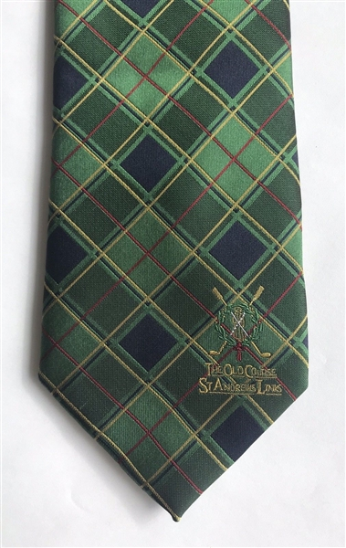 Old Course at St. Andrews Tartan Collection 100% Silk Tie