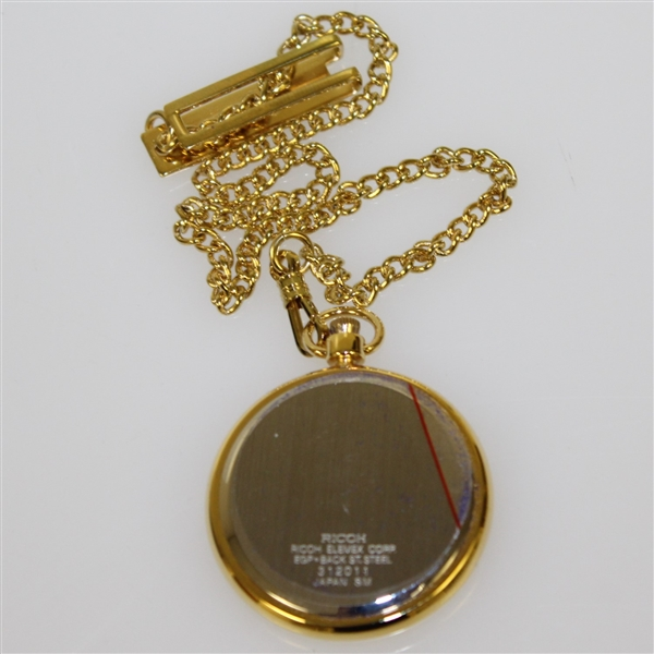 The Crowns 40th Anniversary Past Champions Gift Pocket Watch in Original Box