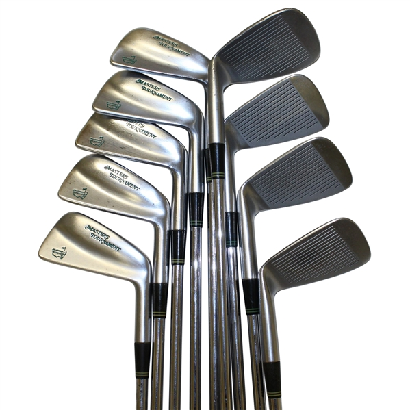 Masters Tournament Set of Irons Made by Mizuno - 3-SW Reg. #101007BR