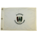 Pine Valley Golf Club 2000 Ransome Tournament Used Flag