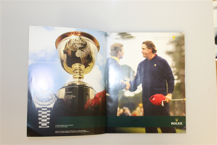 2011 Presidents Cup Program