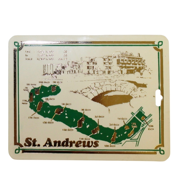 Old Course At St. Andrews Bag Tag