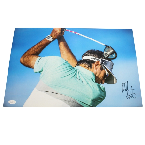 Bubba Watson Signed Action Photo JSA #47541