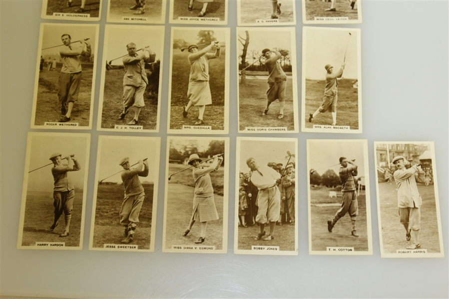 1928 Milhoff Tobacco Card Set - Full Set Of 27 Cards